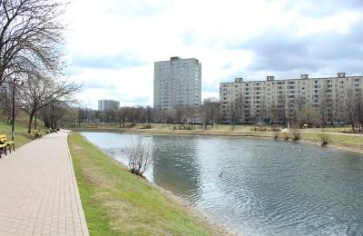 Пруд на Булатниковской улице