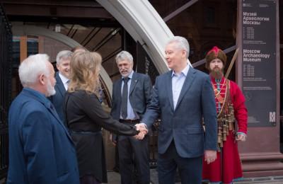 Собянин открыл археологический музей после глобальной реконструкции