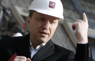 руководитель Департамента строительства Андрей Бочкарев