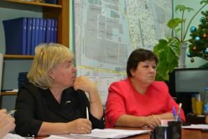 В заседании депутатов приняла участие глава управы Ольга Андриянова (справа)