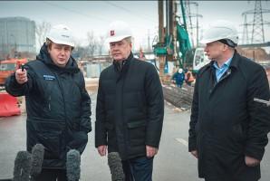Сергей Собянин рассказал о вводе новой эстакады в Москве