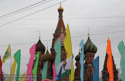 Парад Победы в городе