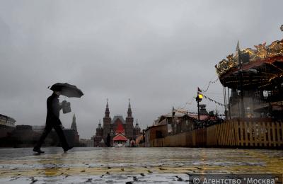 Во вторник, 16 февраля, в Москве может выпасть до 40% месячной нормы осадков