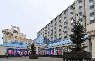 """Торговый центр """"Пирамида"""" на Тверской улице в Москве"""