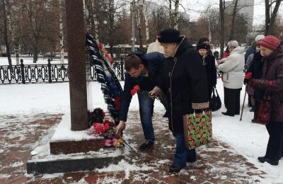 В районе Бирюлево Западное состоялась «Вахта памяти»