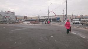 Место снесенного самостроя у метро «Южная» в ЮАО