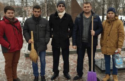 Члены молодежной палаты района Бирюлево Западное