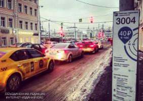 Платная парковка на улице Брестская