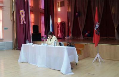 Ольга Андриянова провела очередную встречу с жителями района Бирюлево Западное