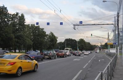 Проспект Андропова в Южном округе