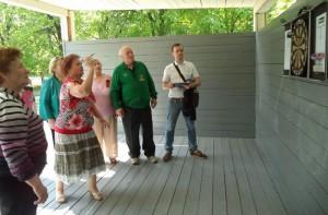 Турнир по игре в дартс в рамках спартакиады «Спортивное долголетие» в сквере «Школьный»