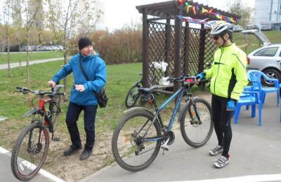 В ЮАО прошли окружные соревнования по велоспорту