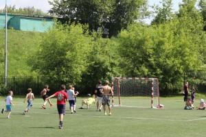 Один из футбольных турниров в ЮАО