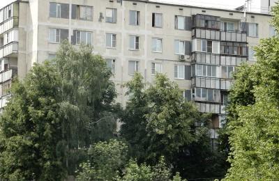 Многоэтажка в районе Бирюлево Западное