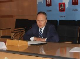 Глава Департамента строительства столицы Андрей Бочкарев