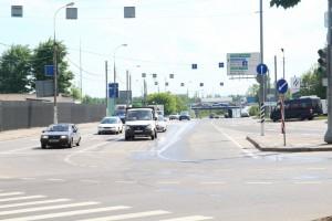 Участок МКАД в районе Бирюлево Западное