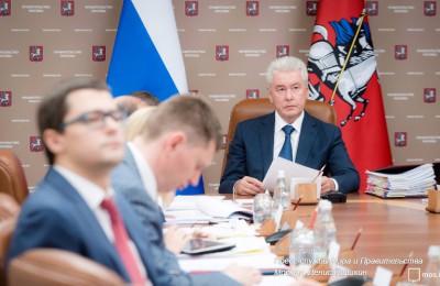 Сергей Собянин рассказал о строительных проектах, реализуемых в Москве Сергей Собянин рассказал о строительных проектах, реализуемых в Москве