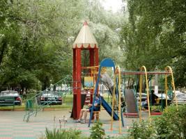 Детская площадка  в районе Бирюлево Западное