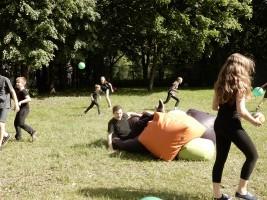 Дети района Бирюлево Западное на спортивных соревнованиях