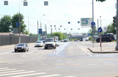 В районе Бирюлево Западное отремонтировали дорожные знаки