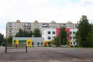 Школа 667 в районе Бирюлево Западное