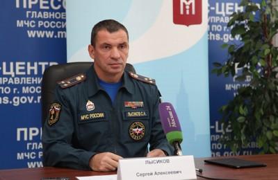 Все образовательные учреждения Москвы прошли проверку на пожарную безопасность, отметил Сергей Лысиков