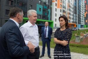 Мэр Москвы Сергей Собянин рассказал о развитии Щербинки