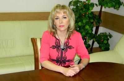 Председатель ОИК №203 Татьяна Мельникова