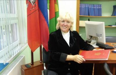 Глава муниципального округа Бирюлево Западное Галина Ковтун