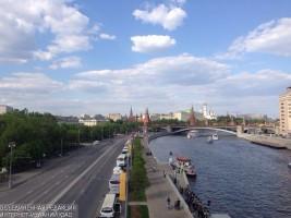 Открылась выставка проектов благоустройства набережных Москвы-реки