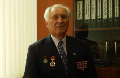 Подполковник в отставке Юрий Викторович Реутов