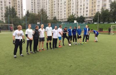 Команда района Бирюлево Западное по мини-футболу