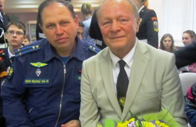 Актер Борис Галкин (справа)