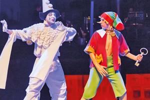Сцена из спектакля в Театриуме на Серпуховке