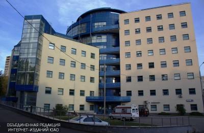 Здание поликлиники №52 в Бирюлево Западное