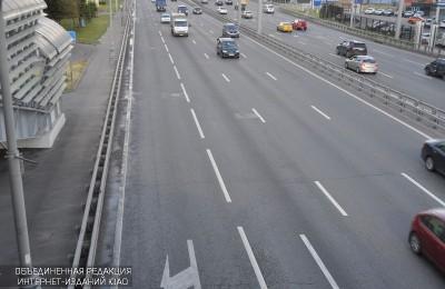 Автозаводский мост в ЮАО частично закроют для машин в связи с проведением ремонтных работ