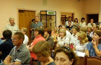 Публичные слушания в районе Бирюлево Западное