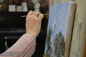 Мастер-класс по живописи пройдет в доме культуры Дружба