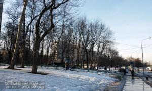 На улице Подольских курсантов ликвидировали незаконную наружную рекламу