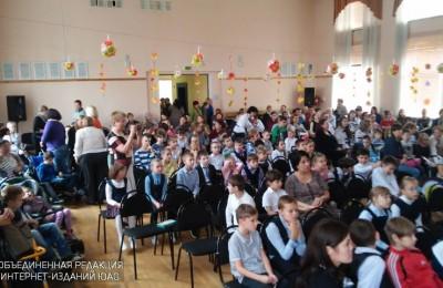 Школьники района Бирюлево Западное
