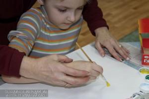 Студии лепки и рисования в библиотеке №160