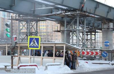 Началось строительство эстакады над путями Павелецкого направления