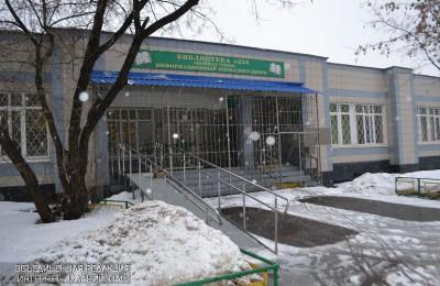 Библиотека №160 в районе Бирюлево Западное
