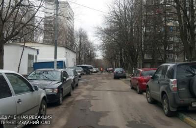 В районе провели ямочный ремонт дорожного покрытия