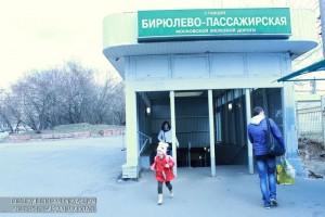 Станция Бирюлево Пассажирская