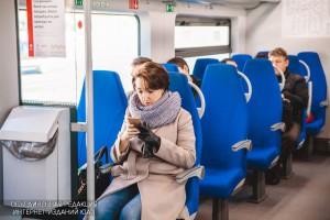 Пассажир Московского центрального кольца