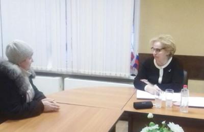 Депутат Государственной Думы ФС Российской Федерации Любовь Духанина провела личный приём граждан ЮАО