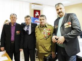 В районе состоялась встреча воинов-интернационалистов