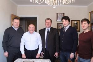 Спаситель Кракова, легендарный разведчик, житель Южного округа Алексей Ботян отпраздновал 100-летие