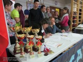На окружном турнире по настольному теннису приняли участие более 60 спортсменов